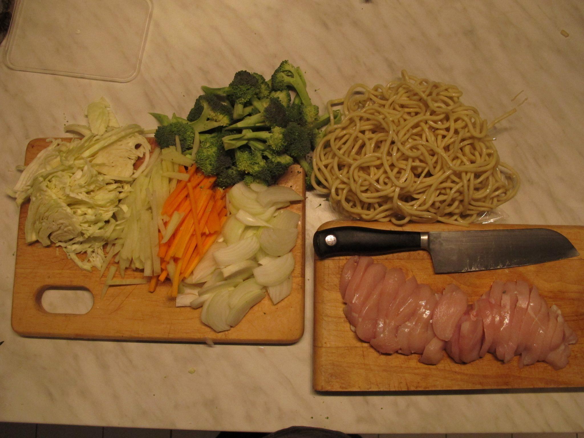 Dinner 4 June