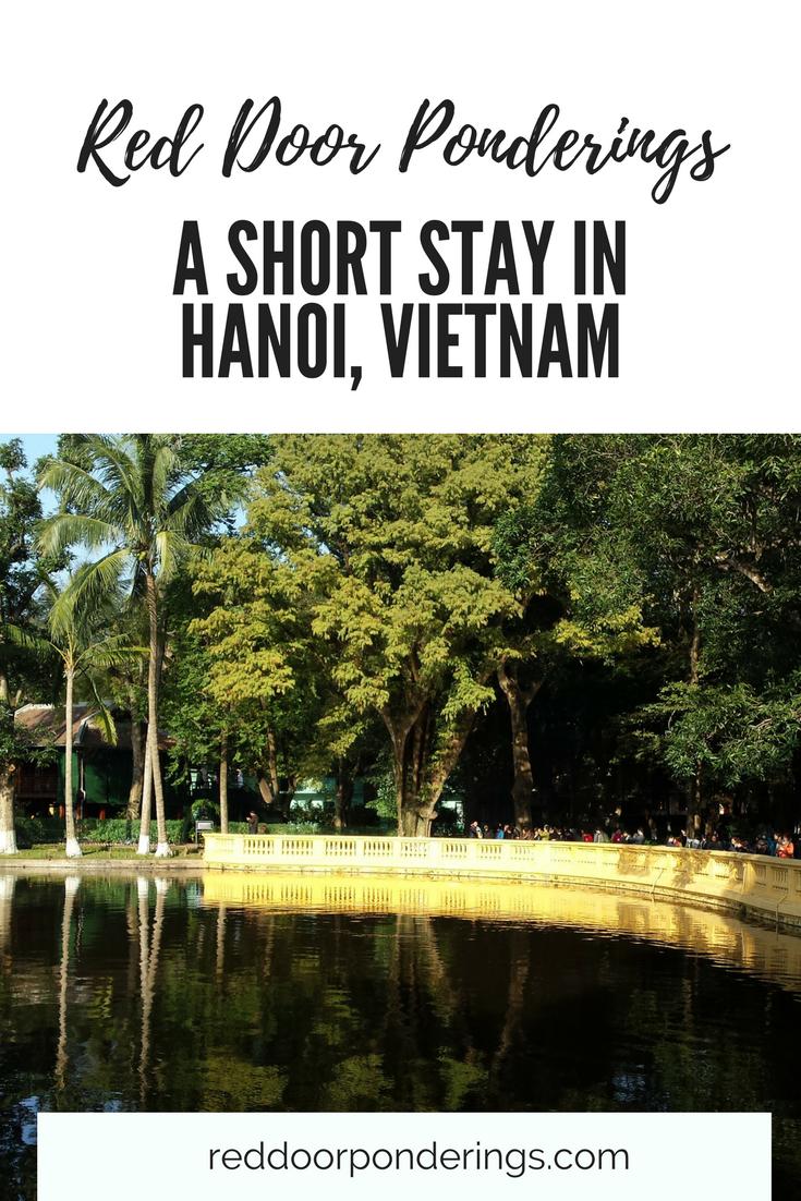 short stay in hanoi