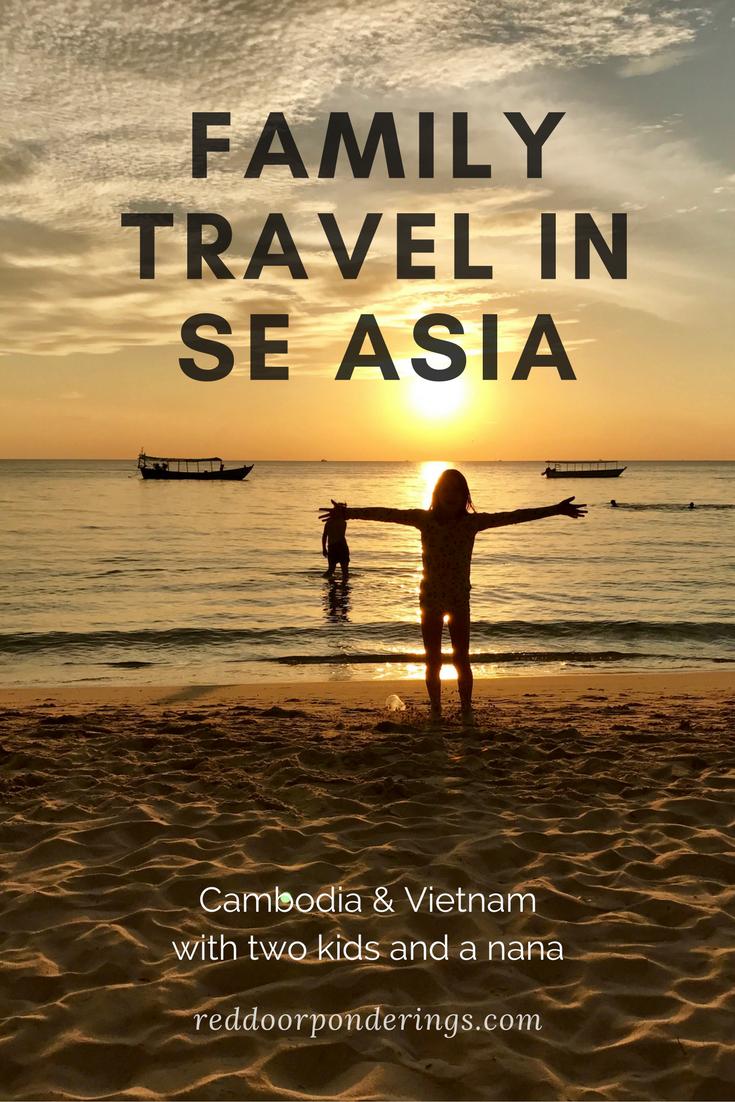 Family travel in SE Asia
