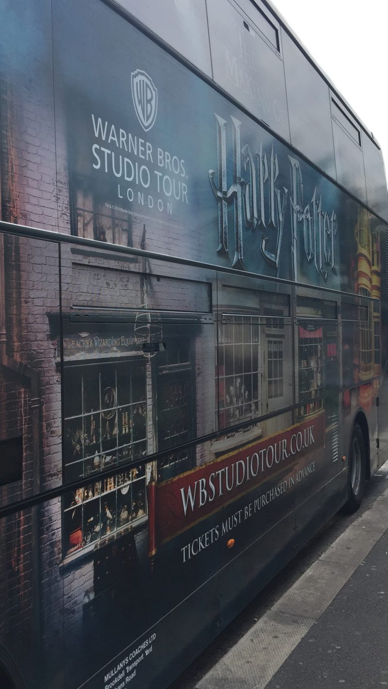Visiting the Harry Potter Warner Bros Studio Tour, London